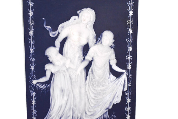 Vintage Blue and White Jasperware Mother's Day Plaque 1978 - Premier Estate Gallery 2