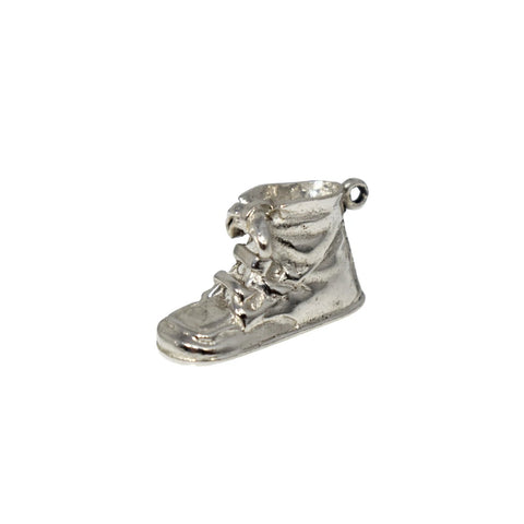 Vintage NOS Sterling Baby Shoe Charm by Wells Silver c1960 - Premier Estate Gallery