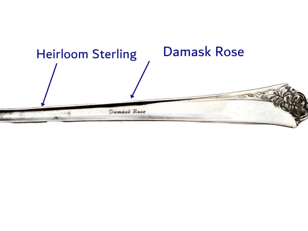 Oneida Heirloom Damask Rose Sterling Silver 2 Place Settings 10 pc
