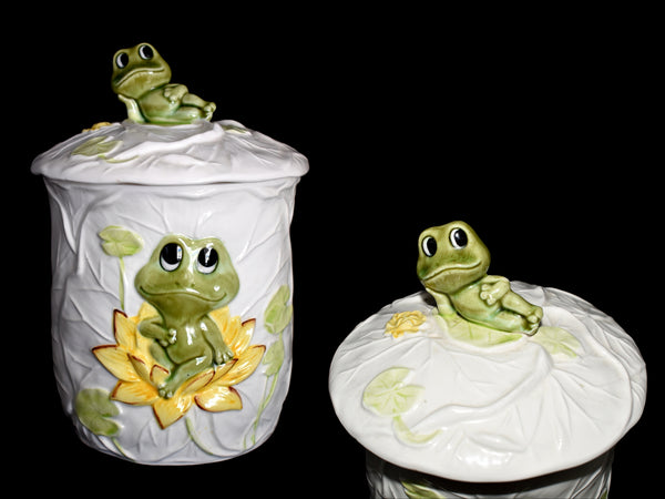 Neil the Frog Canister Set 1978 Sears Roebuck 3 pcs - Premier Estate Gallery 3