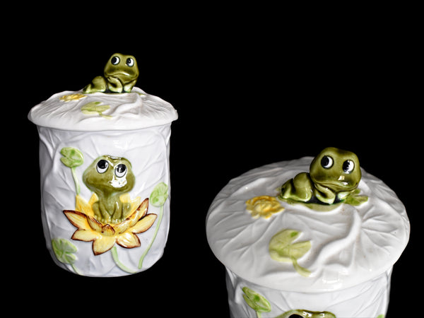 Neil the Frog Canister Set 1978 Sears Roebuck 3 pcs - Premier Estate Gallery 4
