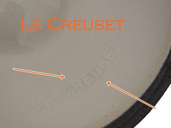 Le Creuset Vintage Saucepan Flame No. 18 with Lid 2 Quart