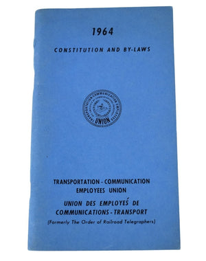 Vintage Transportation - Communication Employees Union By-Laws - Premier Estate Gallery