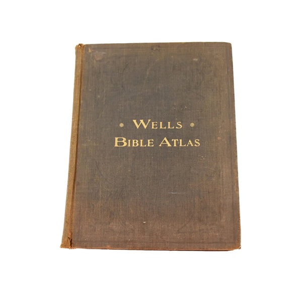 1915 Wells Bible Atlas with more than 3000 Bible Names - Premier Estate Gallery