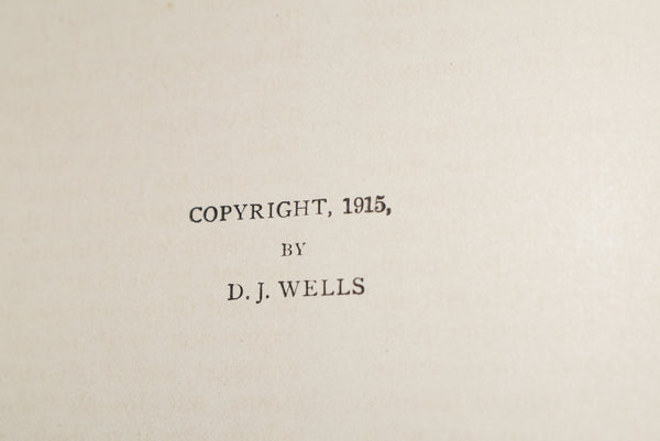 1915 Wells Bible Atlas with more than 3000 Bible Names