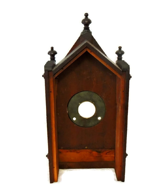 1874 Kroeber German Cabinet Clock Antique Aesthetic - Premier Estate Gallery  - 15