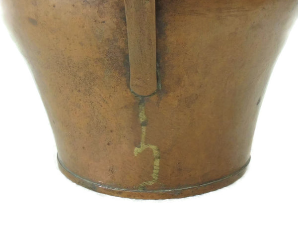 Rare Copper Water Jug Arts and Crafts Movement European - Premier Estate Gallery  - 4