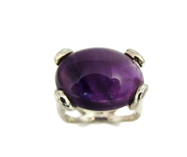 MOD Amethyst Sterling Silver Ring Earring Set 35 ctw - Premier Estate Gallery  - 5