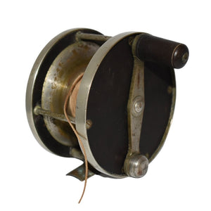 Estate Julius vom Hofe No 4 Salmon Fishing Reel Antique Fishing Reel c1900 - Premier Estate Gallery