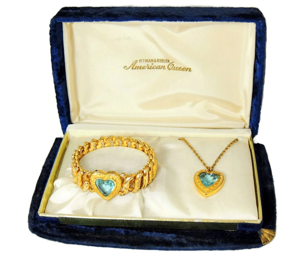 Pitman & Keeler Sweetheart Expansion Bracelet Necklace Set - Premier Estate Gallery  - 2