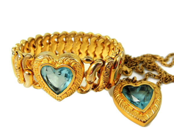 Pitman & Keeler Sweetheart Expansion Bracelet Necklace Set - Premier Estate Gallery  - 9