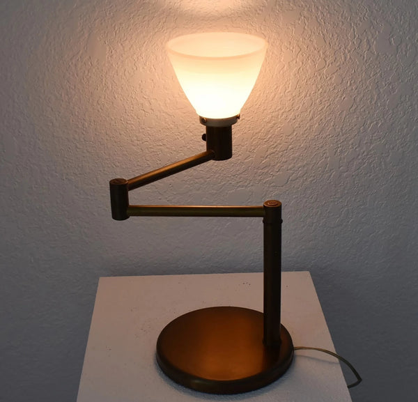 Industrial MCM Von Nessen Swing Arm Table Lamp - Premier Estate Gallery 1