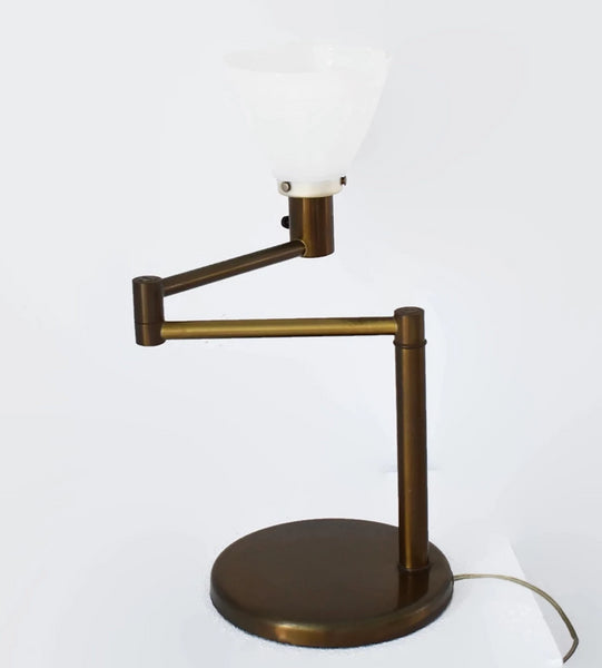 Industrial MCM Von Nessen Swing Arm Table Lamp - Premier Estate Gallery 2