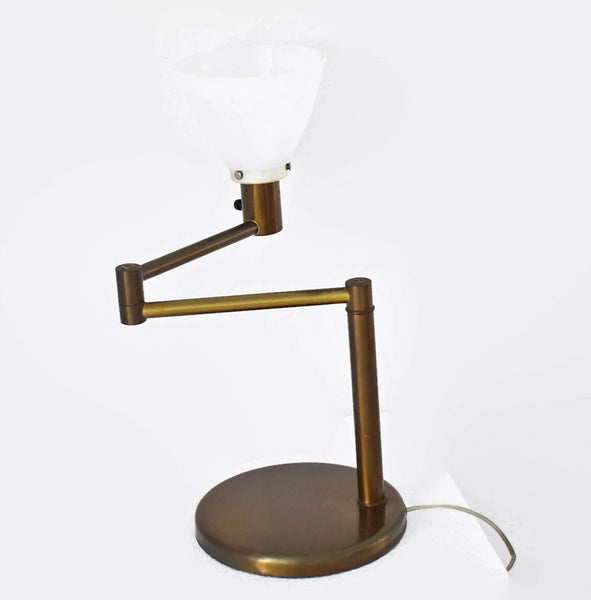 Industrial MCM Von Nessen Swing Arm Table Lamp - Premier Estate Gallery 4