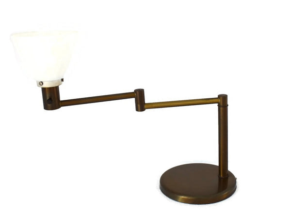 Industrial MCM Von Nessen Swing Arm Table Lamp - Premier Estate Gallery 7