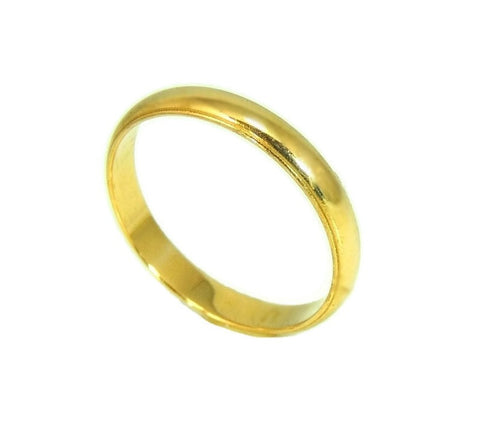 Men's 14k Wedding Band Vintage Gold Ring