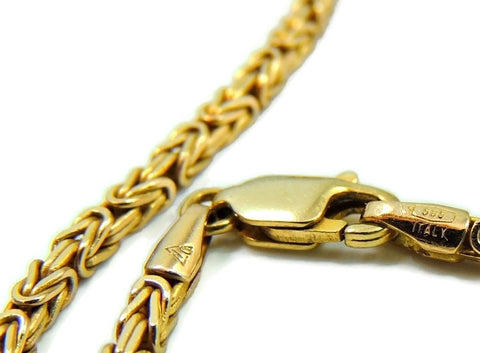 14k Byzantine Gold Chain Necklace Italy - Premier Estate Gallery  - 1