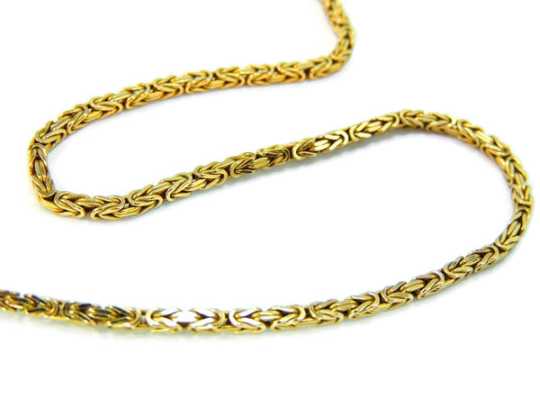 14k Byzantine Gold Chain Necklace Italy - Premier Estate Gallery  - 2