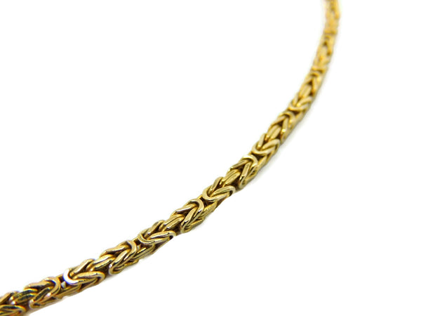 14k Byzantine Gold Chain Necklace Italy - Premier Estate Gallery  - 4