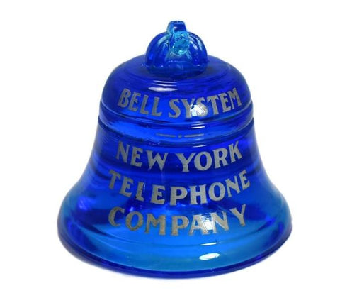 Vintage NY Telephone Paperweight Glass - Premier Estate Gallery 1