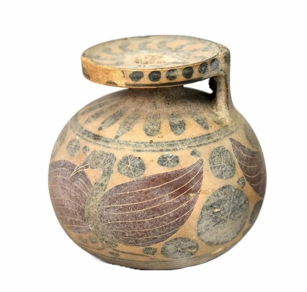 Ancient Artifact Aryballos Greek Corinthian Perfume Oil 7th Century - Premier Estate Gallery 2