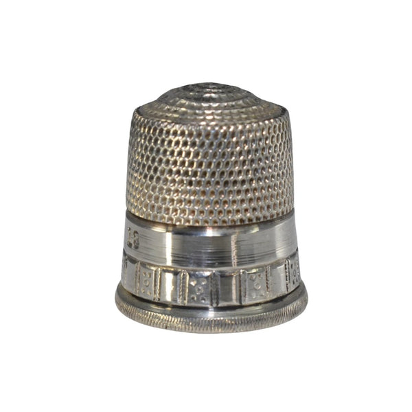 Vintage Simon Brothers Thimble Sterling Silver Domino Pattern 266 - Premier Estate Gallery 1