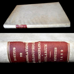 1489 Boethius Consolation Ethics; The Training for Students RARE BOOK in Latin - Premier Estate Gallery