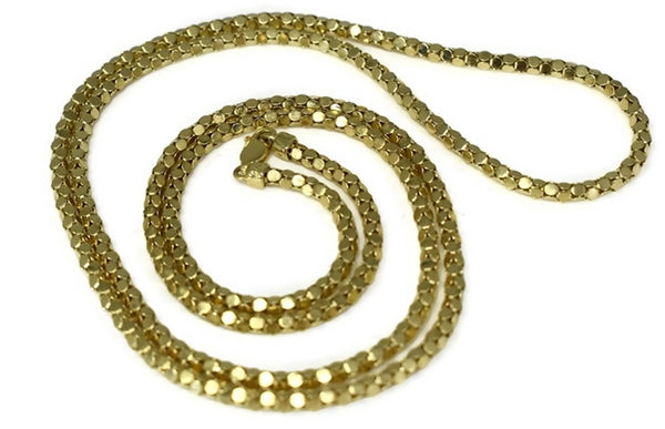 14k Box Link Chain Long 31 inch Gold Chain 17.7g - Premier Estate Gallery