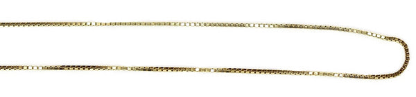 Estate 14k Gold 1mm Box Chain 16.5 Inch - Premier Estate Gallery 2