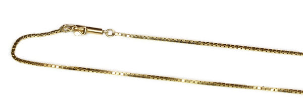 Estate 14k Gold 1mm Box Chain 16.5 Inch - Premier Estate Gallery 3