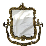 Vintage Art Nouveau Style Ornate Gilded Iron Vanity Mirror French  - Premier Estate Gallery  1