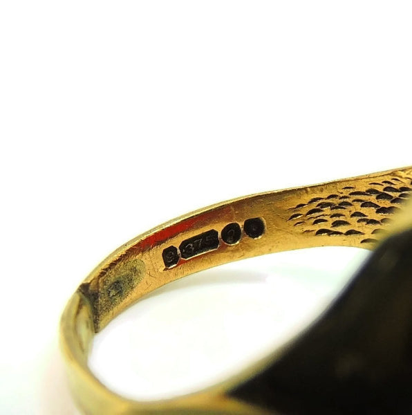 9kt Gold Carnelian Signet Ring Antique Estate Jewelry 19th Century - Premier Estate Gallery  - 5
