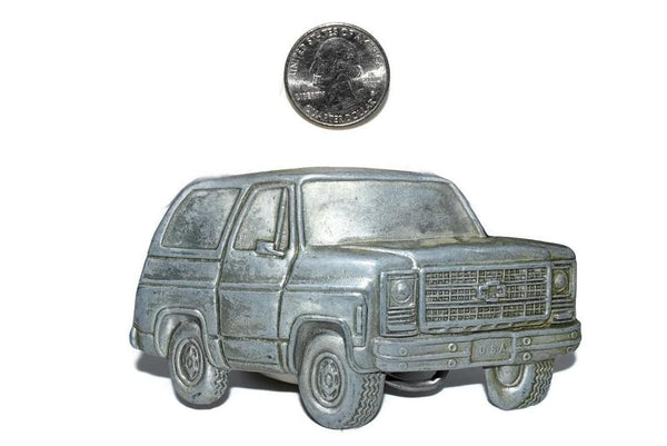1978 Chevy K5 Blazer Belt Buckle Over Sized Vintage Chevy Truck - Premier Estate Gallery 2