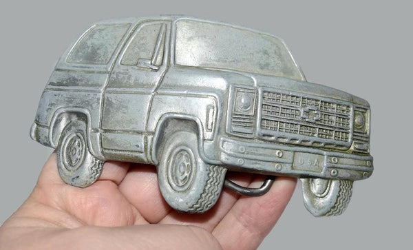 1978 Chevy K5 Blazer Belt Buckle Over Sized Vintage Chevy Truck - Premier Estate Gallery 3