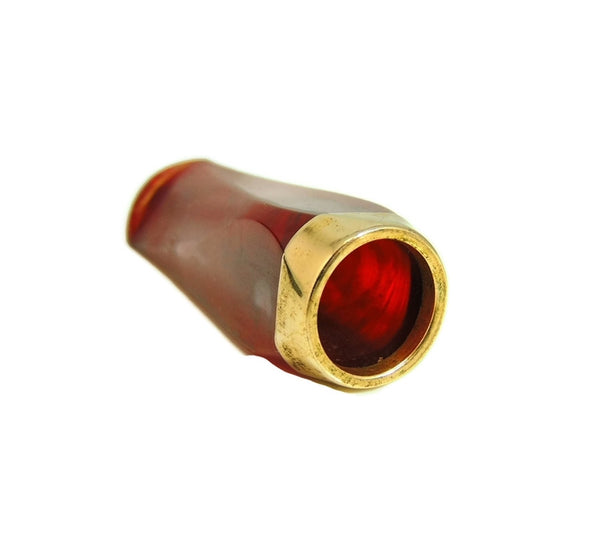 Art Deco Cigarette Cigar Holder Cherry Amber 1920s Smoking Collectible - Premier Estate Gallery  - 4