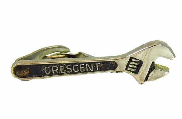 1940s Crescent Wrench Vintage Tie Clip, Tool Collector
