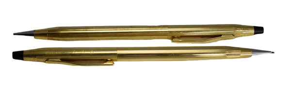 Vintage Cross Century Mechanical Pencil Set in 10k Gold Fill HHH Monogram on 1- Premier Estate Gallery 2