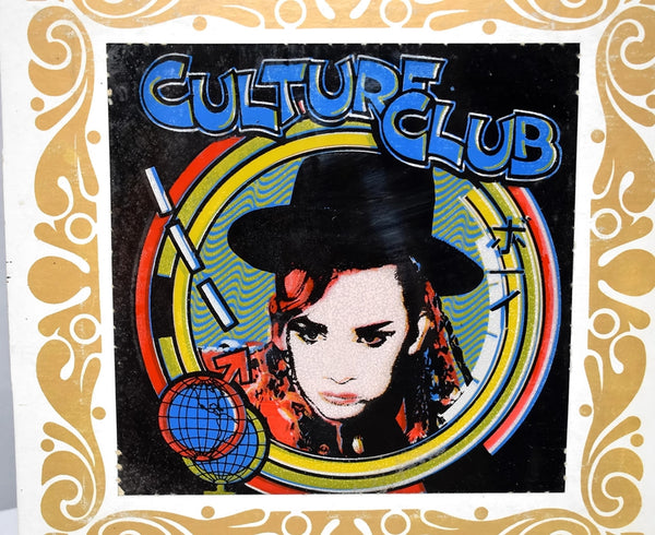 Culture Club Boy George Carnival Prize Mirror Original 1980s - Premier Estate Gallery 3
