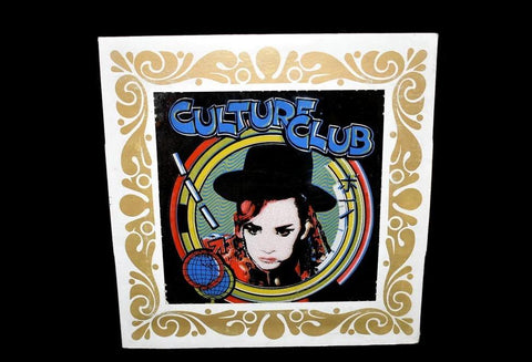 Culture Club Boy George Carnival Prize Mirror Original 1980s - Premier Estate Gallery