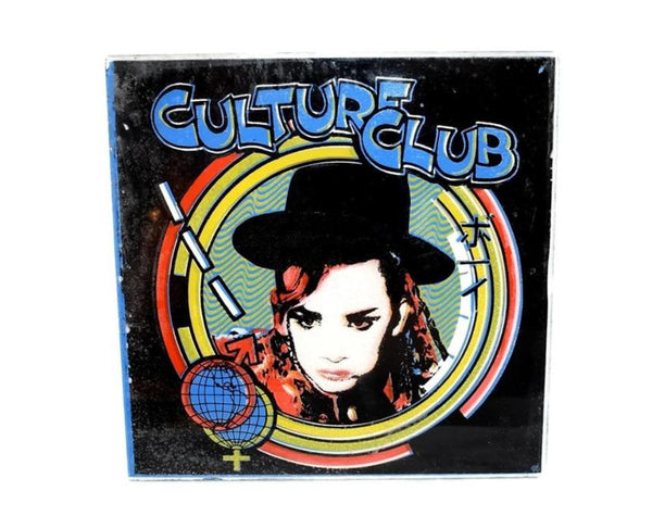 Culture Club Boy George Carnival Prize Mirror Original 1980s - Premier Estate Gallery 2
