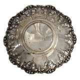 MCM 800 Silver Repousse Bowl Feather Plume Italy Stancampiano Eugenio - Premier Estate Gallery