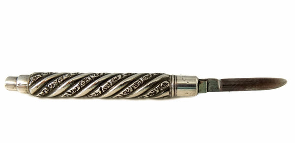 Sterling Silver Antique Pocket Knife  - Premier Estate Gallery