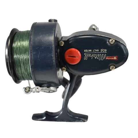 1960s Garcia Mitchell 402 High Speed Saltwater Spinning Reel Fishing Reel - Premier Estate Gallery