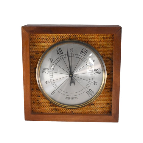 Mid Century Modern Hygrometer Made in Germany - Premier Estate Gallery