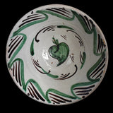 19th Century Tin Glaze Earthenware Bowl Basin Teruel Spain - Premier Estate Gallery