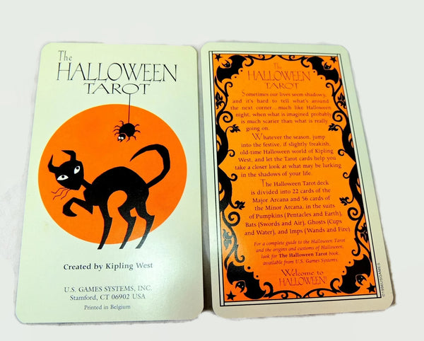 1996 Halloween Tarot Boxed Set by US Games Systems