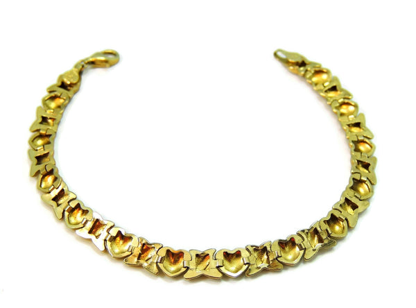 10k Gold Hugs and Kisses Bracelet Romantic Jewelry - Premier Estate Gallery  - 3