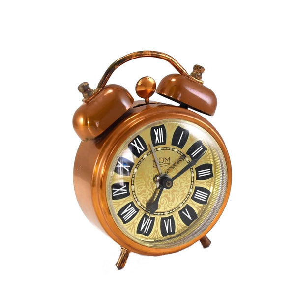 Vintage Hungarian Alarm Clock Double Bell - Premier Estate Gallery 3