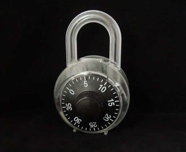 1980s PADLOCK Bank Opens like PADLOCK with Combo BIG - Premier Estate Gallery  - 1