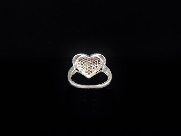 Ruby Heart Ring Sterling Silver - Premier Estate Gallery  - 3